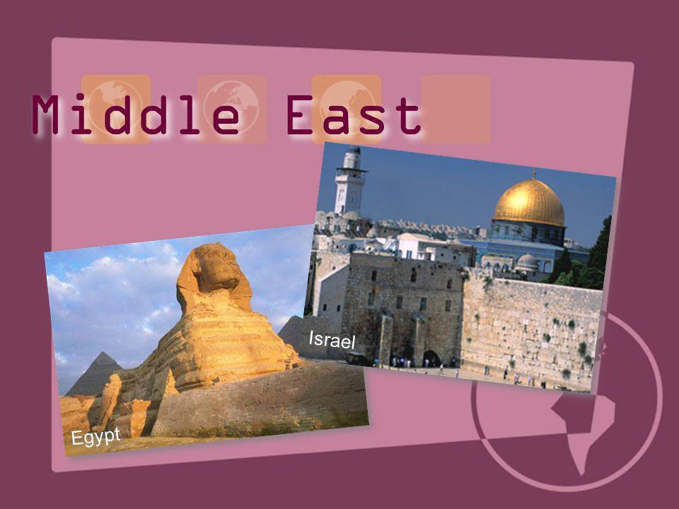 Egypt Israel Middle East