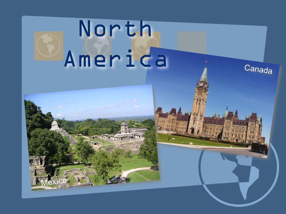 Canada Mexico North America
