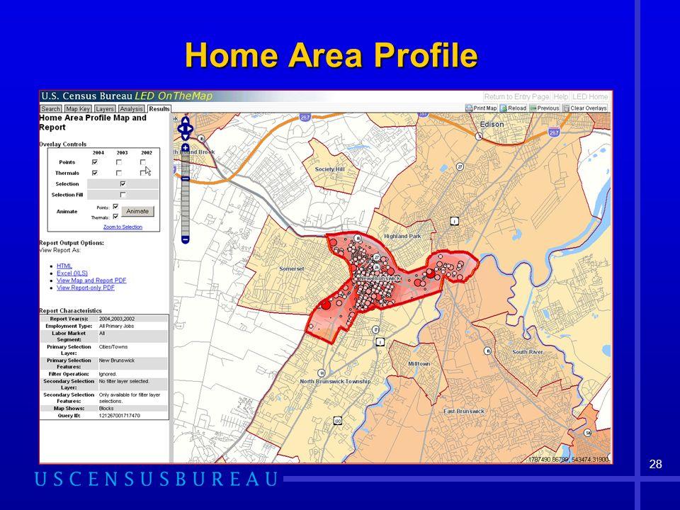 28 Home Area Profile