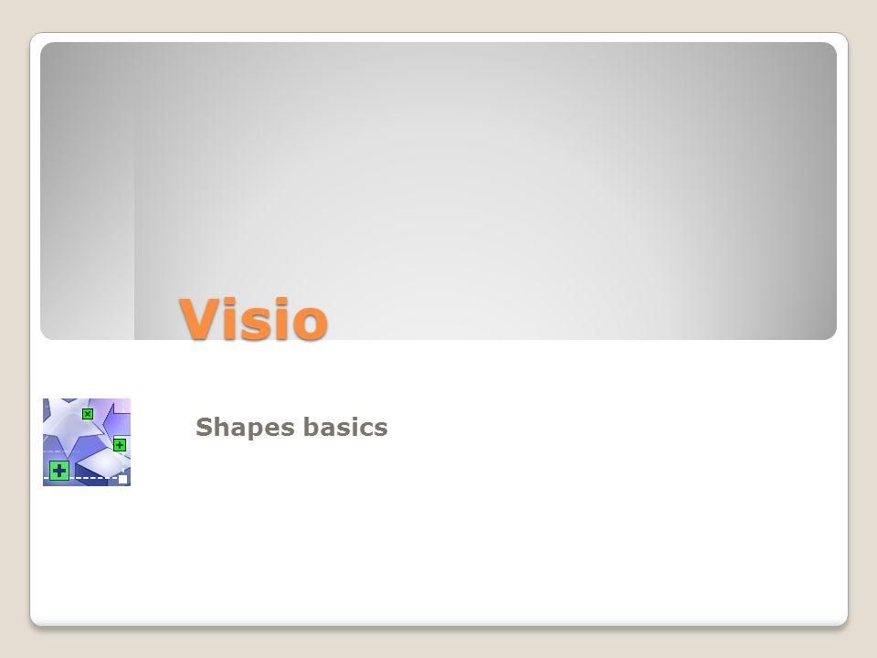 Visio Shapes basics