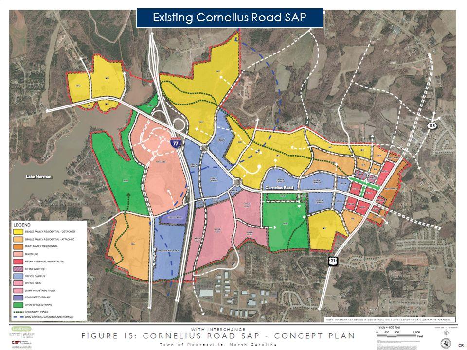 Existing Cornelius Road SAP