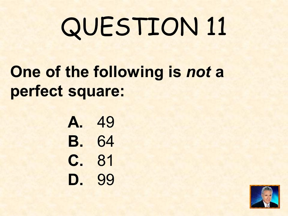 ANSWER 10 What is 40 ?