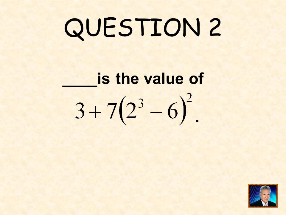 ANSWER 1 What is ?