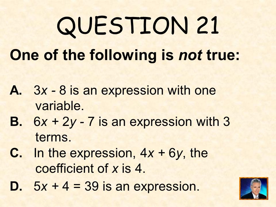 ANSWER 20 What is 22 ?