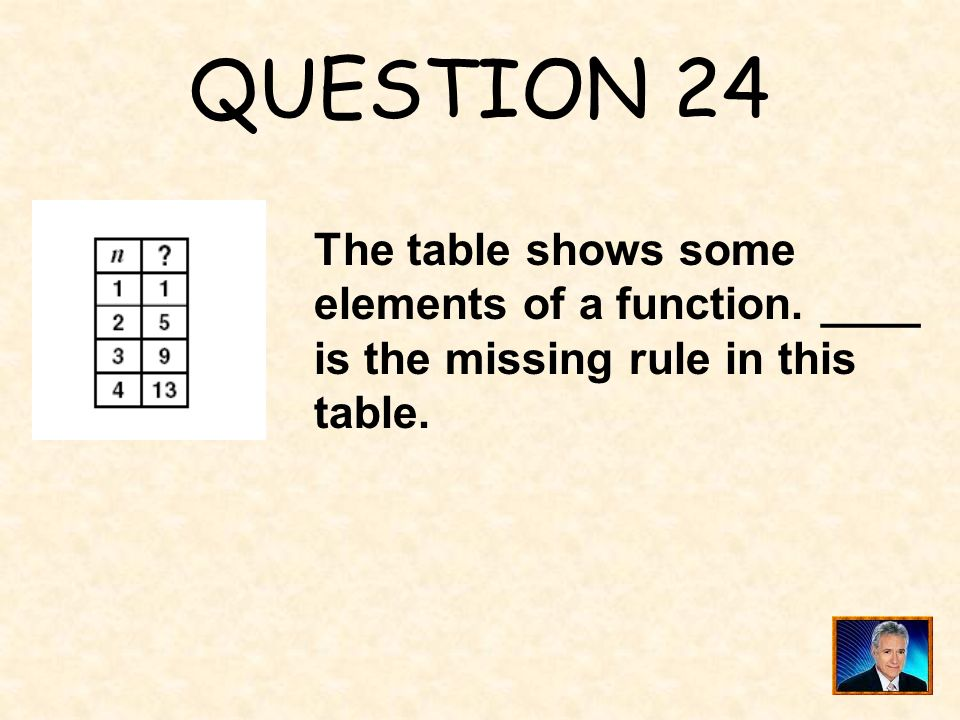 ANSWER 23 What is x = 0.4 ?