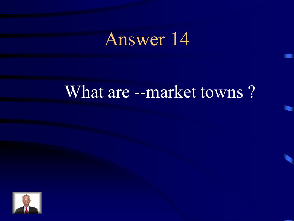 Question 14 Mid-Atlantic political life consisted of this.