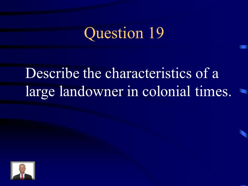Answer 18 What are --counties ?