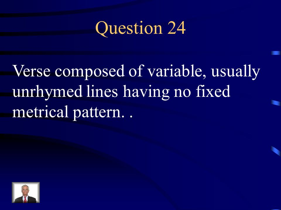 Answer 23 What is – a couplet ?