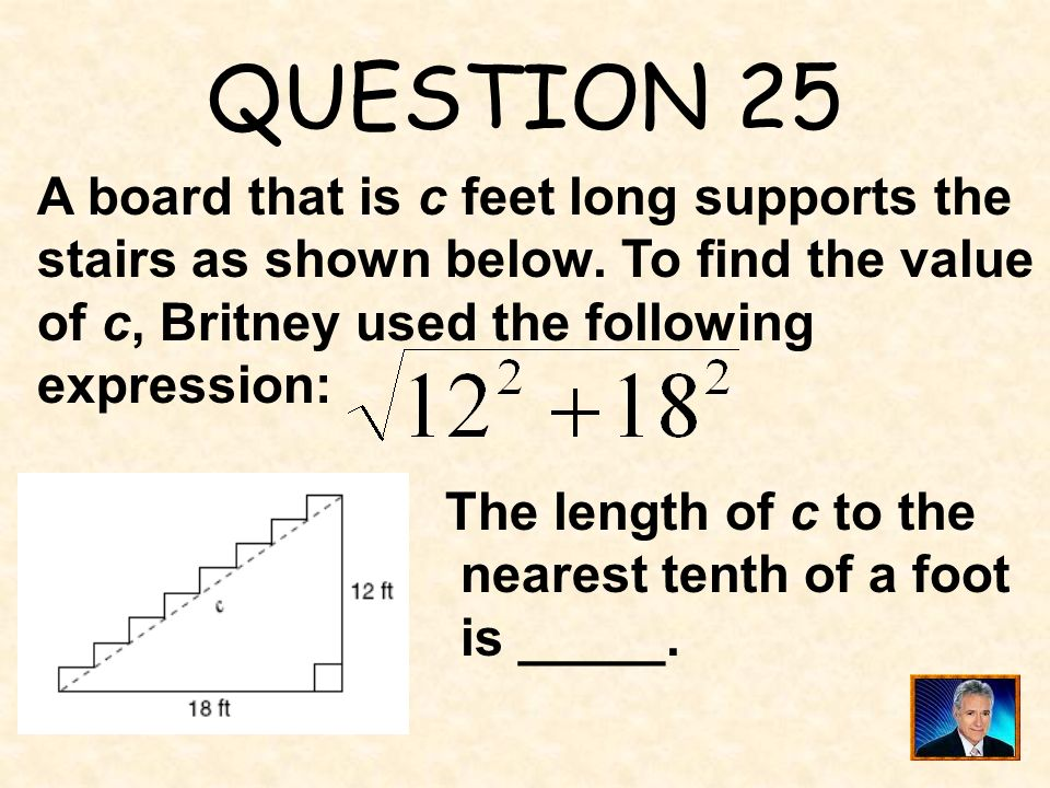 ANSWER 24 What is ?