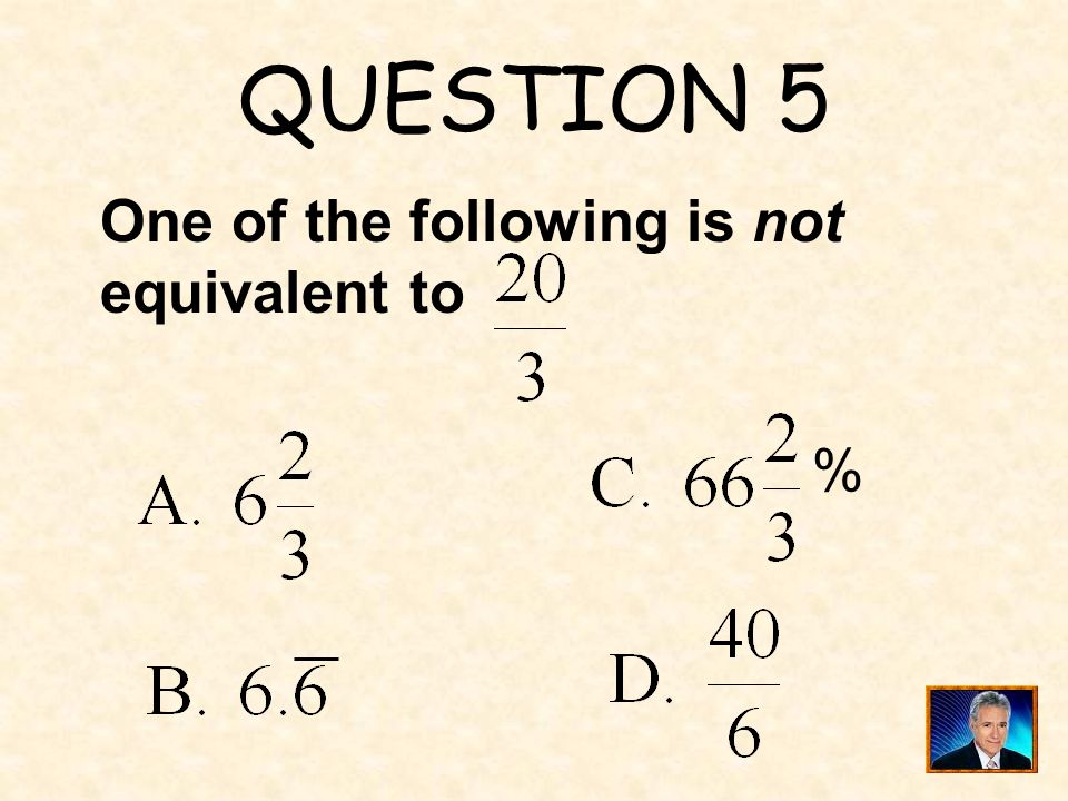 ANSWER 4 What is r