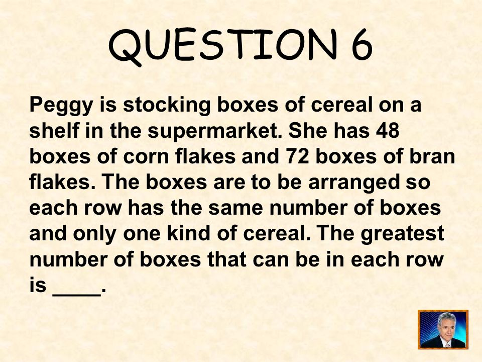 ANSWER 5 What is ? %