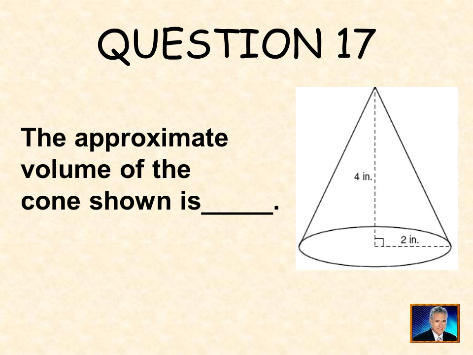 ANSWER 16 What is 4 ?