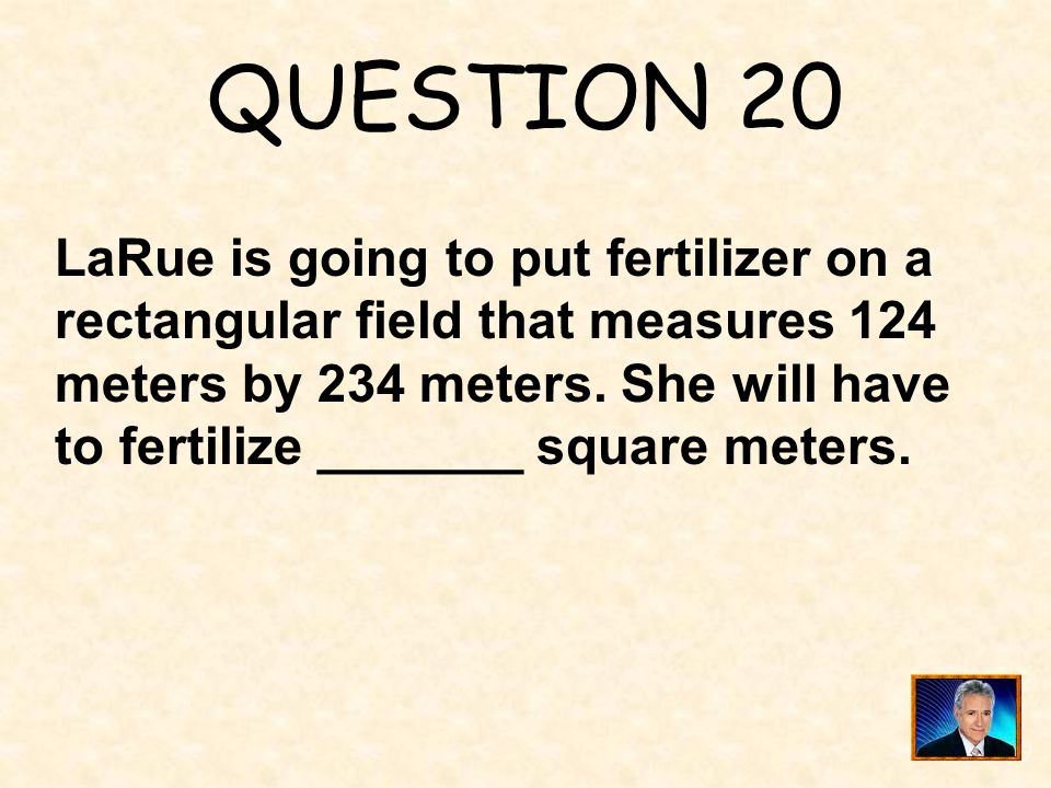 ANSWER 19 What is less than 90° ?