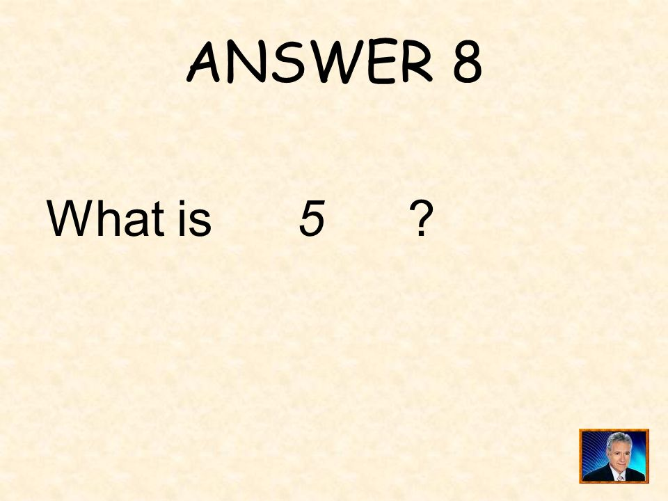 QUESTION 8 The ordered pairs in the table follow a quadratic pattern. _____ is the value of x.