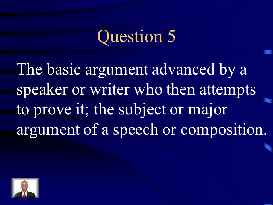 Answer 4 What is – persuasive technique