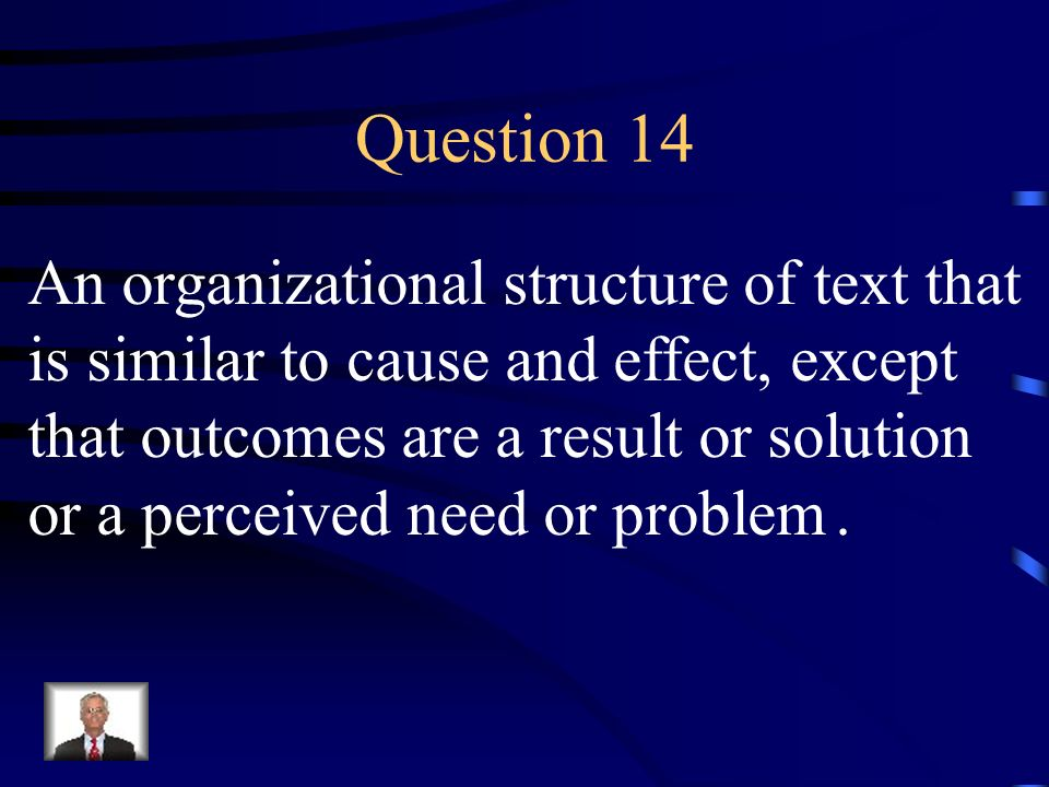 Answer 13 What is –persuasive?