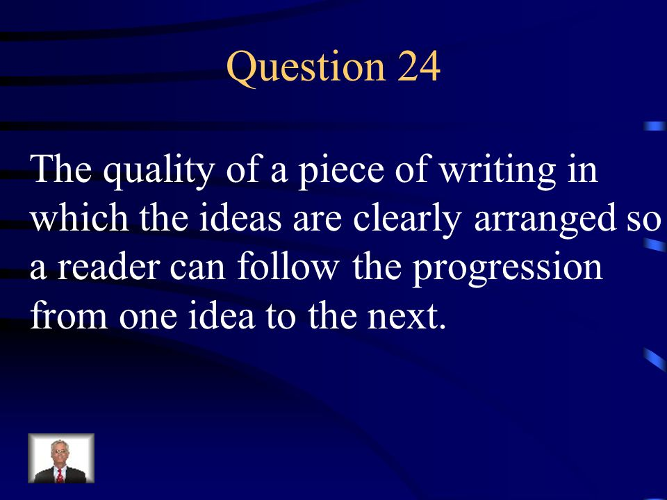 Answer 23 What is – a rhetorical device