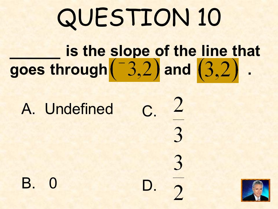 ANSWER 9 What is 6