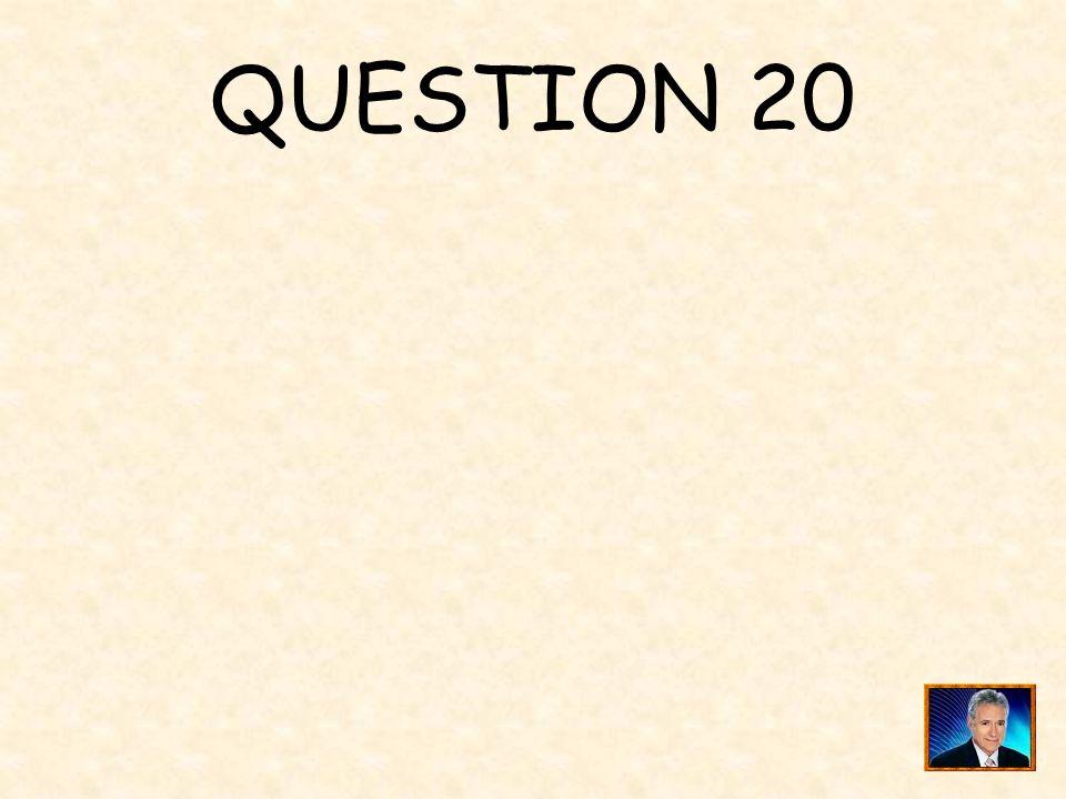 QUESTION 20