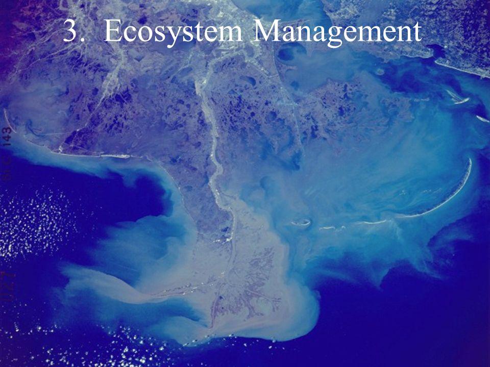 3. Ecosystem Management