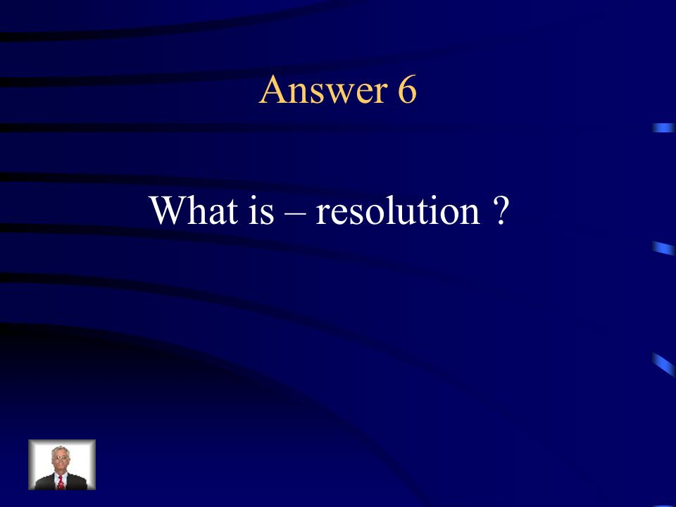 Question 6 The point in a literary work at which the chief dramatic complication is resolved.