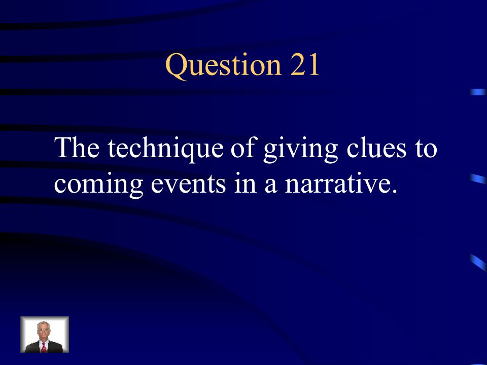 Answer 20 What is – situational irony
