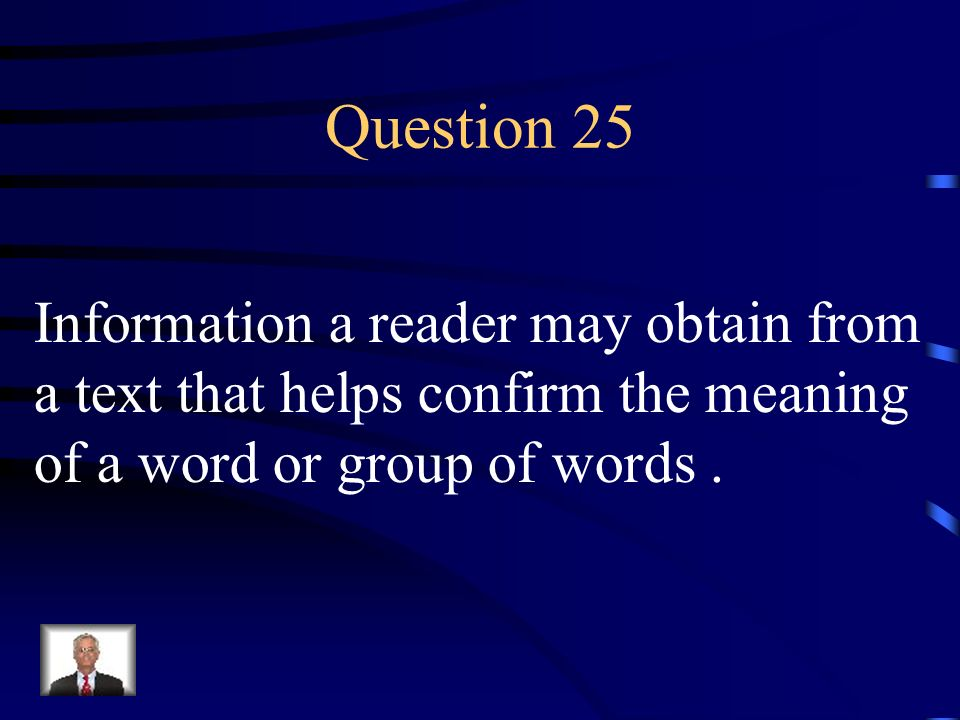 Answer 24 What is – an anecdote