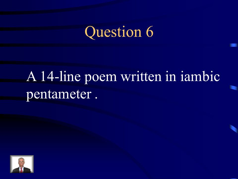 Answer 5 What is – a soliloquy