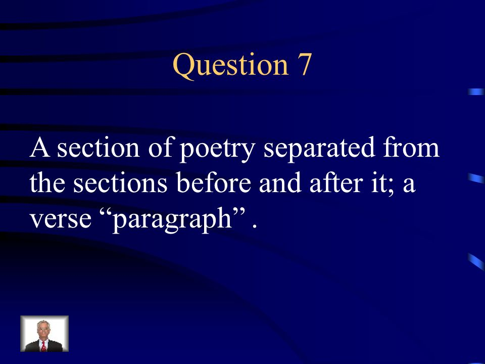 Answer 6 What is – a sonnet
