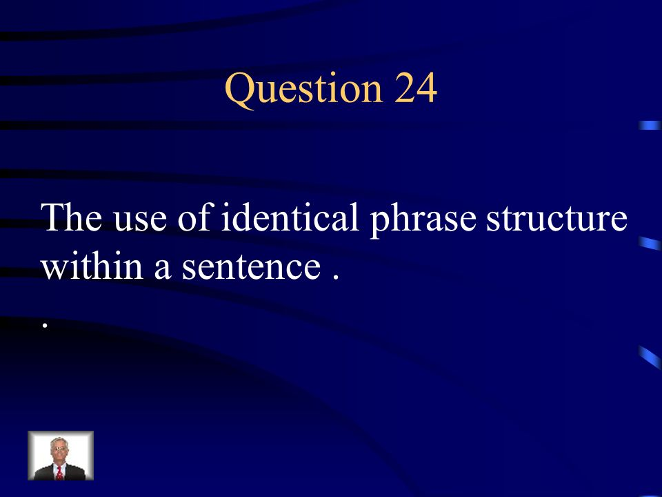 Answer 23 What is – an allusion