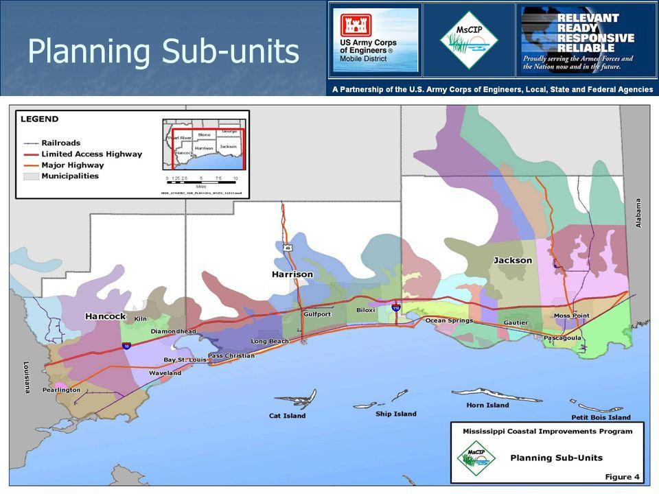 Planning Sub-units