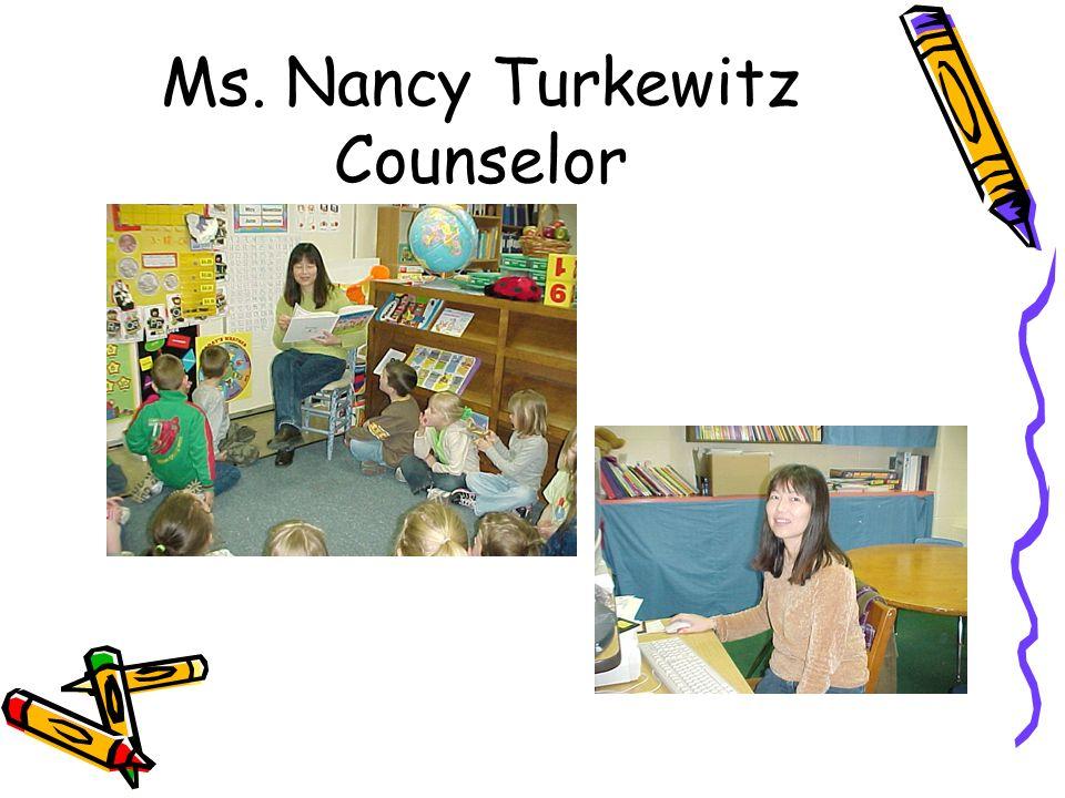 Ms. Nancy Turkewitz Counselor