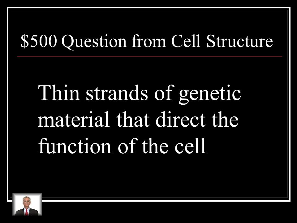 $400 Answer from Cell Structure What are specialized cells?