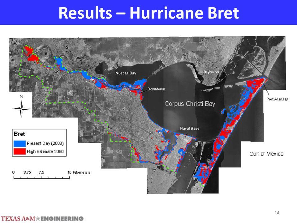 Results – Hurricane Bret 14