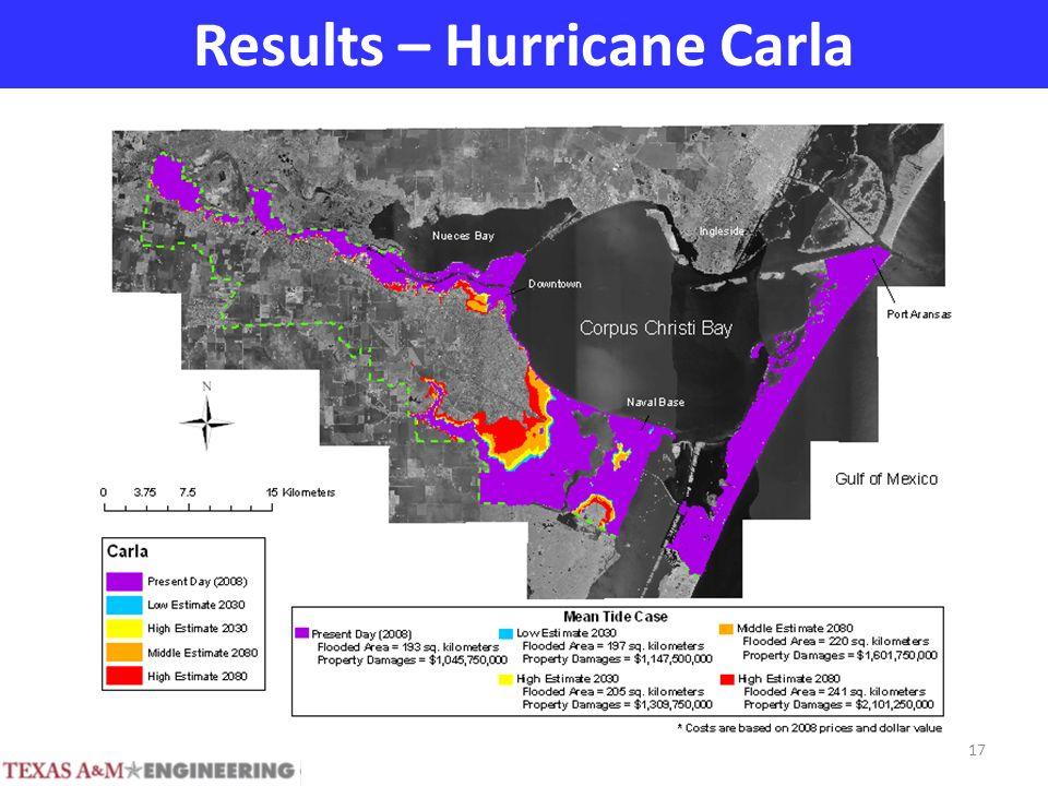Results – Hurricane Carla 17