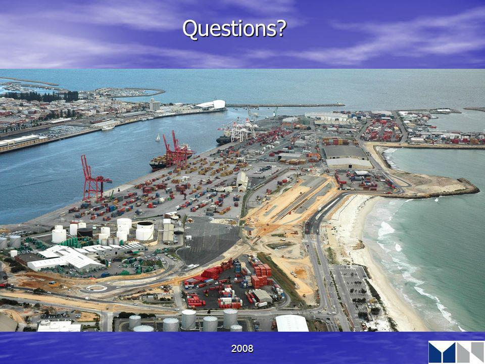 2008 Questions?