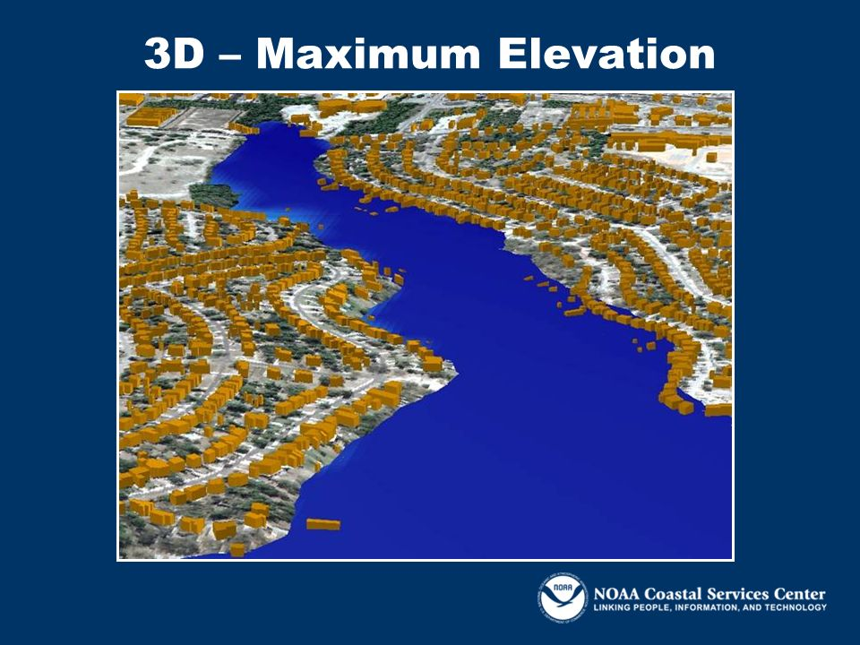 3D – Maximum Elevation