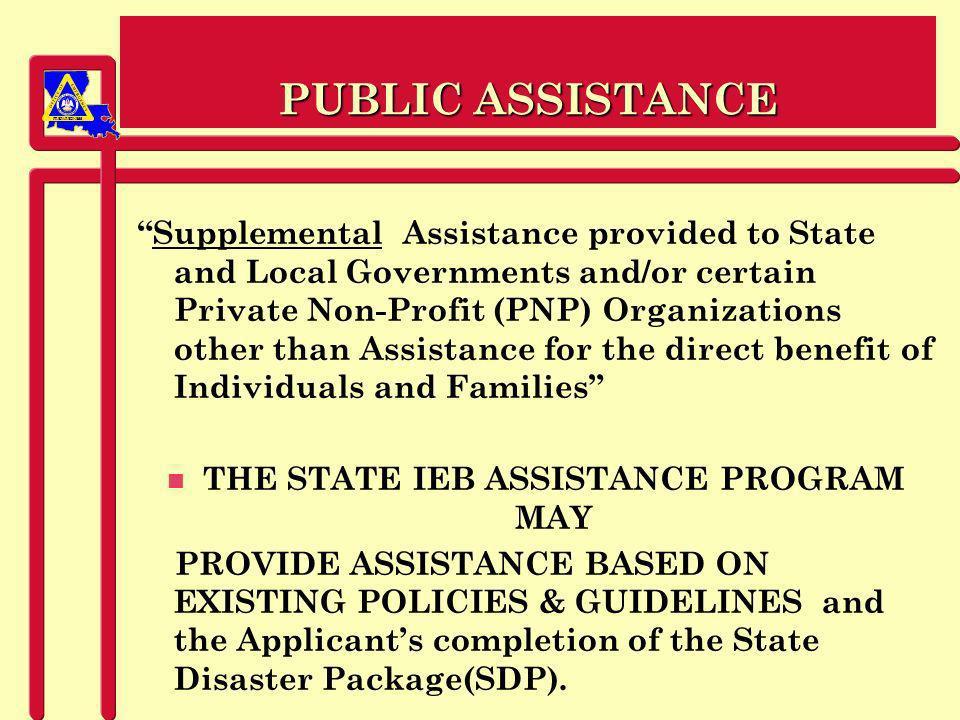 PREPAREDNESS PROJECT ADMINISTRATION n Documentation !!.