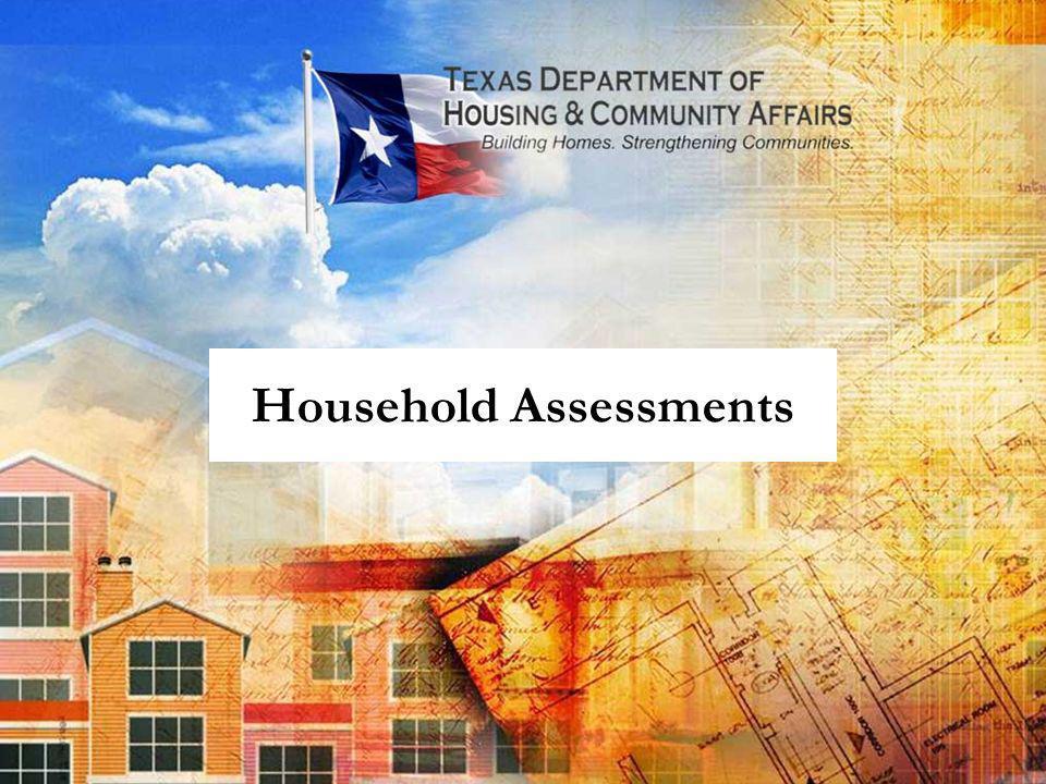 Household Assessments