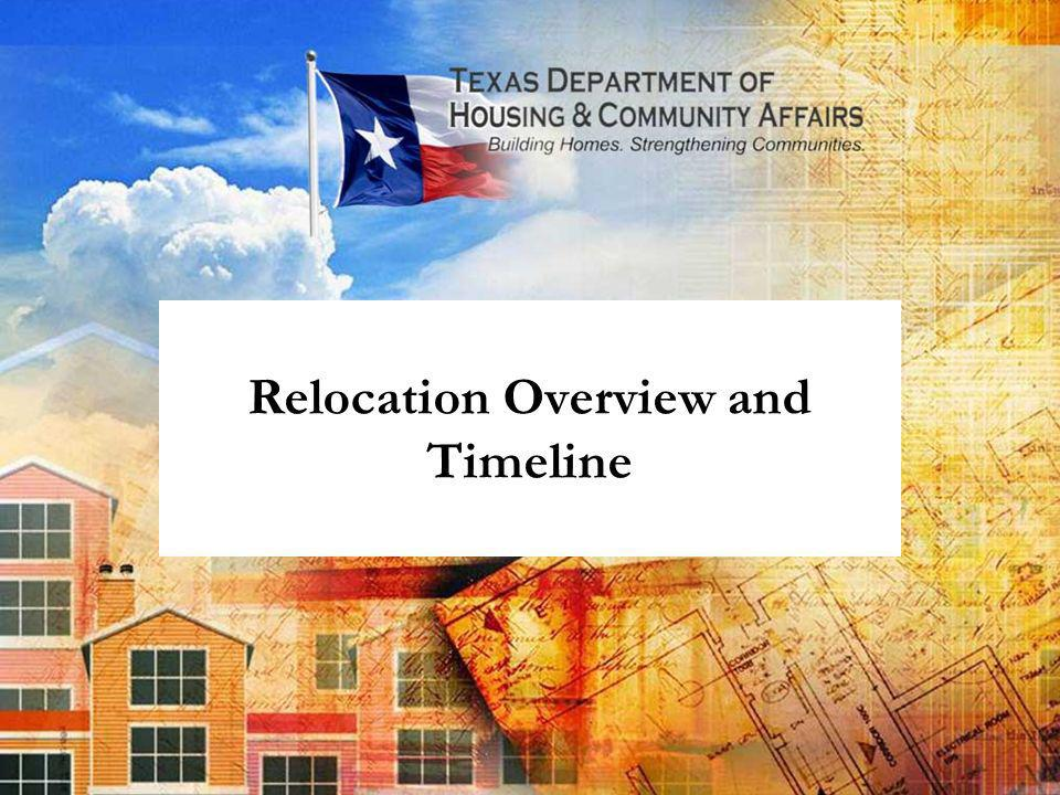 Relocation Overview and Timeline
