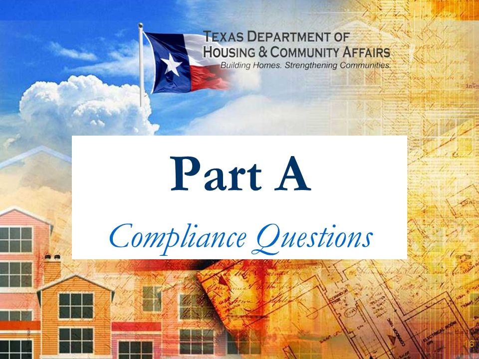 Part A Compliance Questions 16