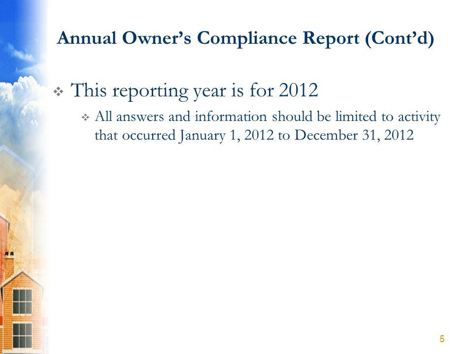 Part A Compliance Questions 16