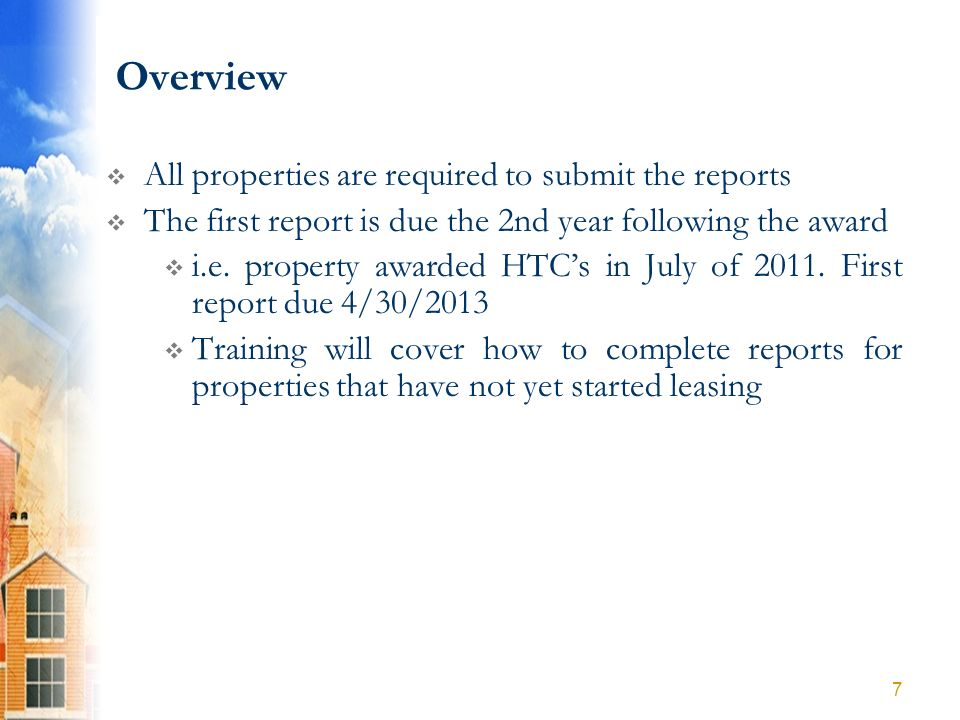 Part A: Compliance Questions The reporting year for this report is 2012.
