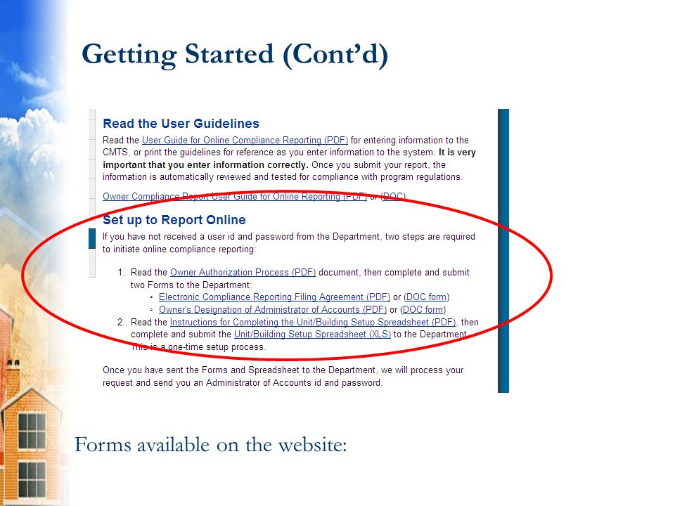 Part B: Unit Status Report At the Property detail screen, click Submit Reports 70