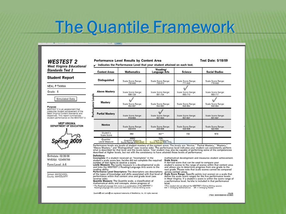 The Quantile Framework