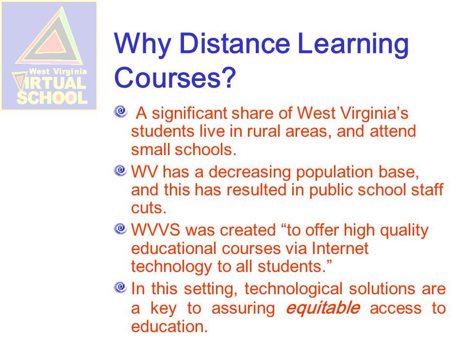 Contact Information Sharon Gainer, Registrar, West Virginia Virtual School sgainer@access.k12.wv.us toll-free at 866-593-8065 sgainer@access.k12.wv.us Sarah Lyons, WVVS Director, WVDE Office of Technology slyons@access.k12.wv.us 304.558.7880@access.k12.wv.us