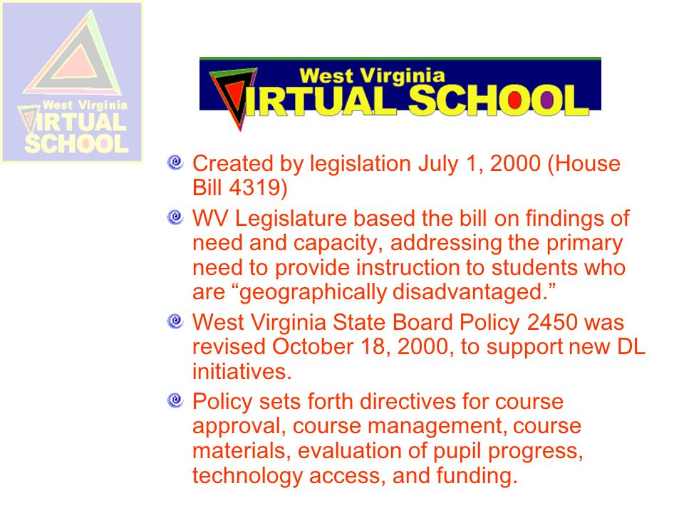 WVVS Additions for 2010-11 Physical Education Drivers Education (classroom instruction) Trigonometry Cisco Academy Social Studies TBA