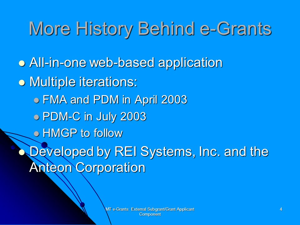MT e-Grants: External Subgrant/Grant Applicant Component 55 Any Questions?