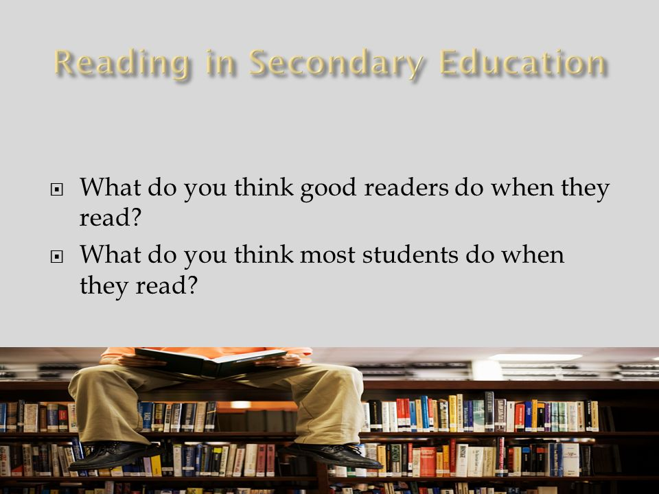 How can secondary teachers be expected to teach reading when they have so much content to cover.
