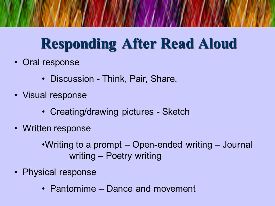 5 Ways to Build Reading Fluency Model good oral reading Provide oral support for readers 1.